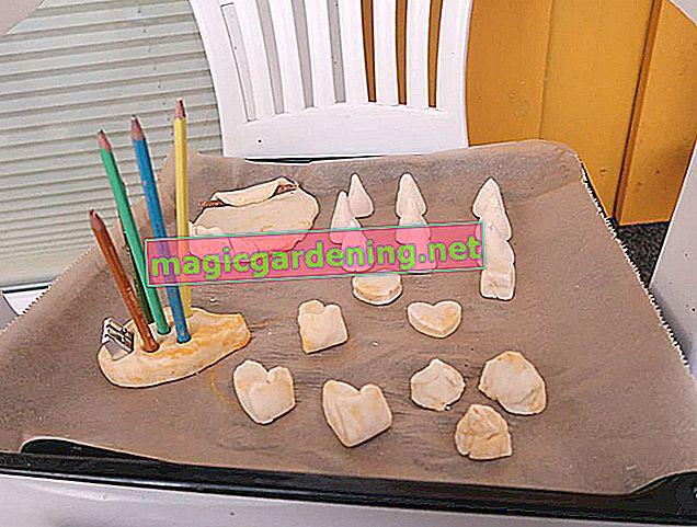 Tuzlu hamurları kurutun - hazırlanmış sanat eserlerini emniyete alın