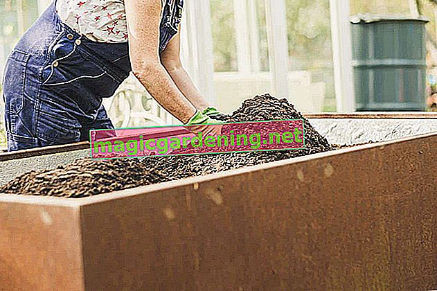Refill sagged raised bed - this is how it works