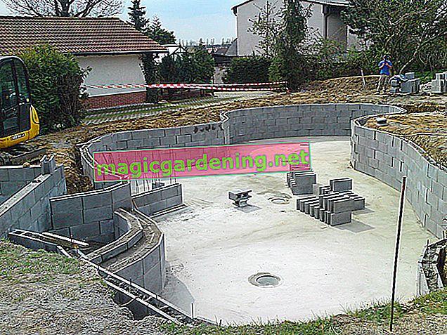 Betonlu gölet yapımı bahçede bireysellik sağlar