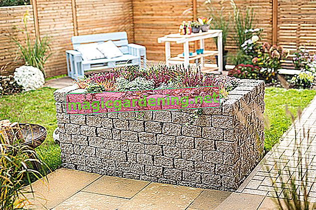 How to build a raised bed out of stone